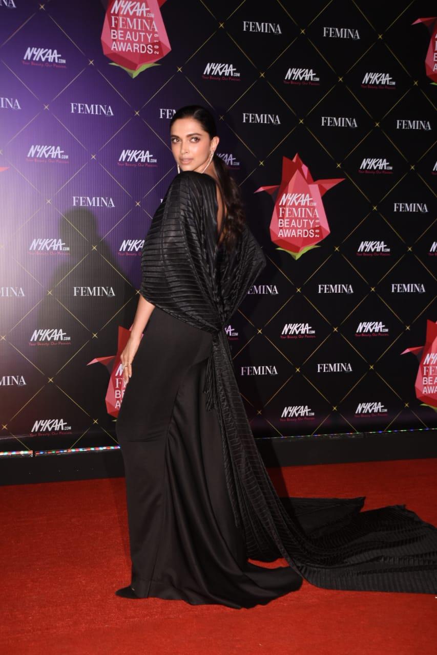 Nykaa Femina Beauty Awards Deepika Paduokone 4