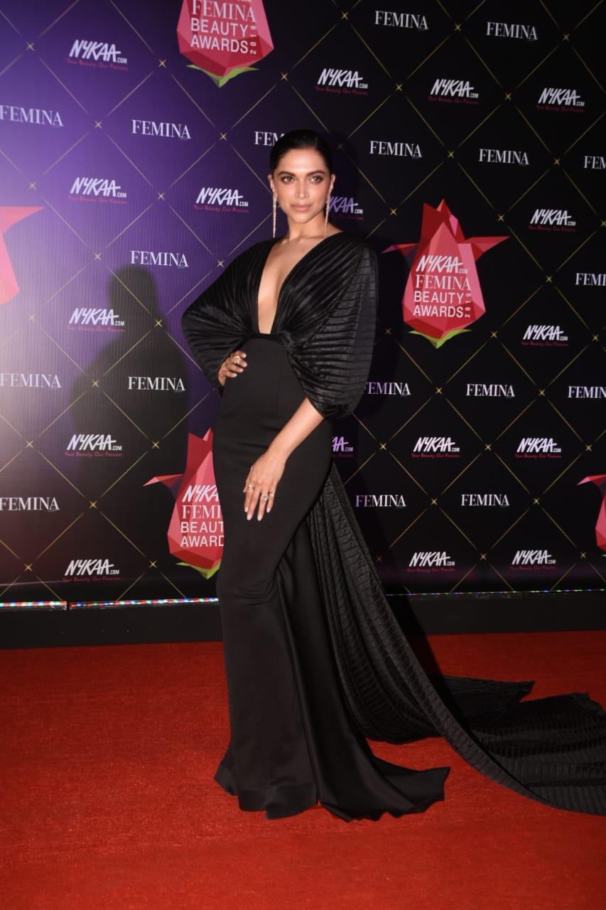 Nykaa Femina Beauty Awards Deepika Paduokone