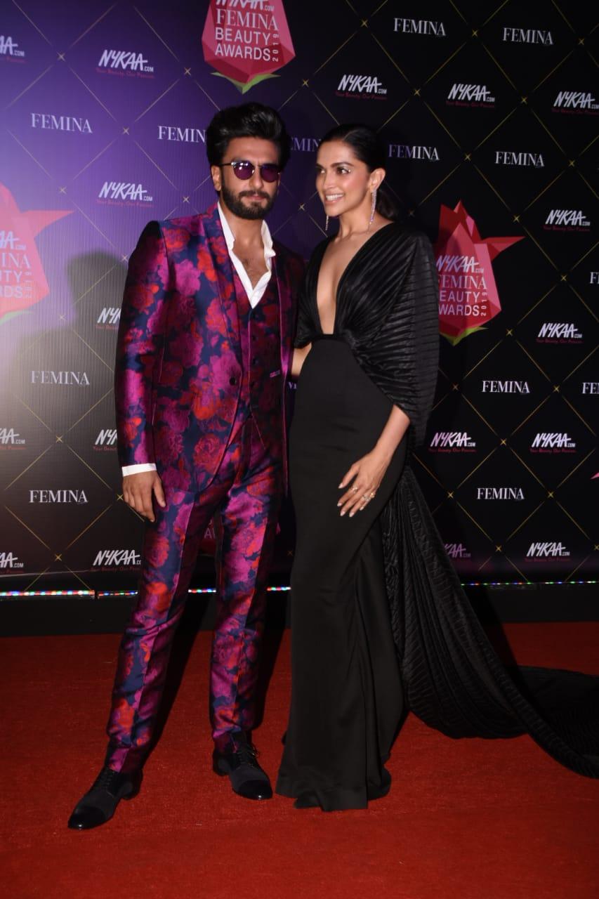 Nykaa Femina Beauty Awards Ranveer Singh Deepika Paduokone 3