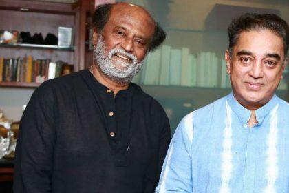 Rajinikanth invites Kamal Haasan for his daughter Soundaryas wedding