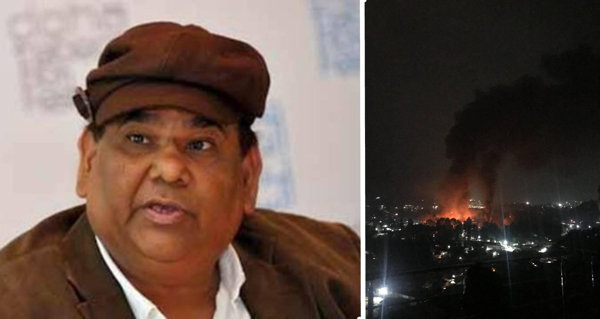 अरुणाचल प्रदेश में डायरेक्टर-एक्टर सतीश कौशिक के 5 थिएटर जलकर खाक, प्रदर्शनकारियों ने इस वजह से लगाई आग