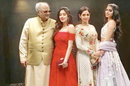 Sridevi death anniversary Janhvi Kapoor Khushi and Boney Kapoor