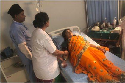 शुभी शर्मा अर्धांग्नी फिल्म के एक सीन में (फोटो इंस्ताग्राम)