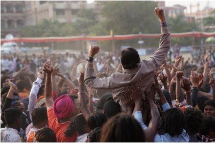 अमिताभ बच्चन की एक तस्वीर आगामी फिल्म झुंड के सेट से (फोटो इंस्टाग्राम)