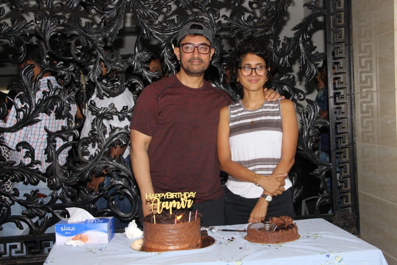 Aaamir Khan Birthday Party 1