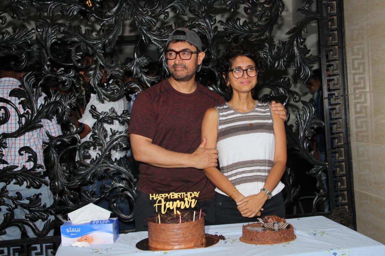Aaamir Khan Birthday Party 12