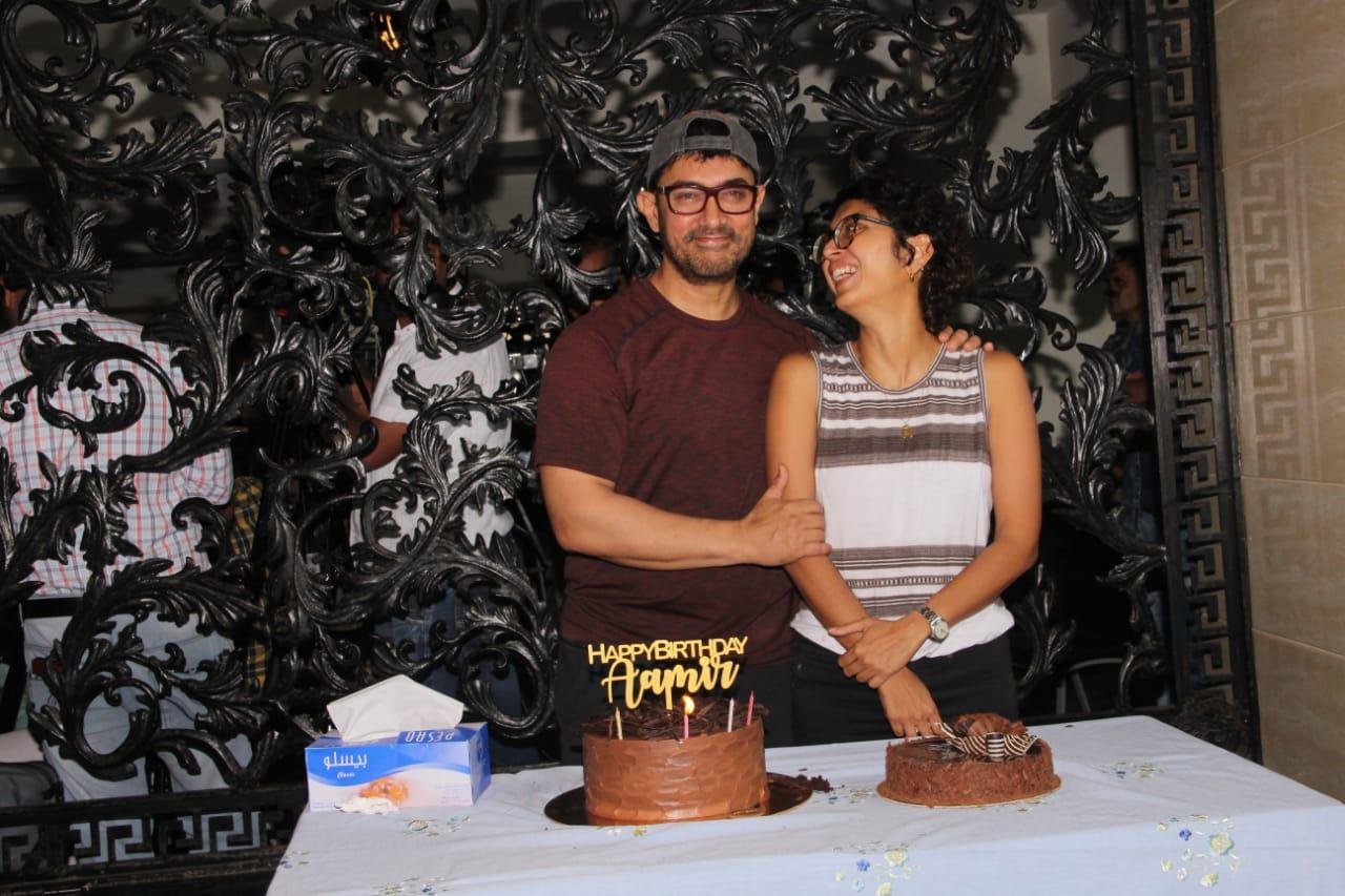 Aaamir Khan Birthday Party 13
