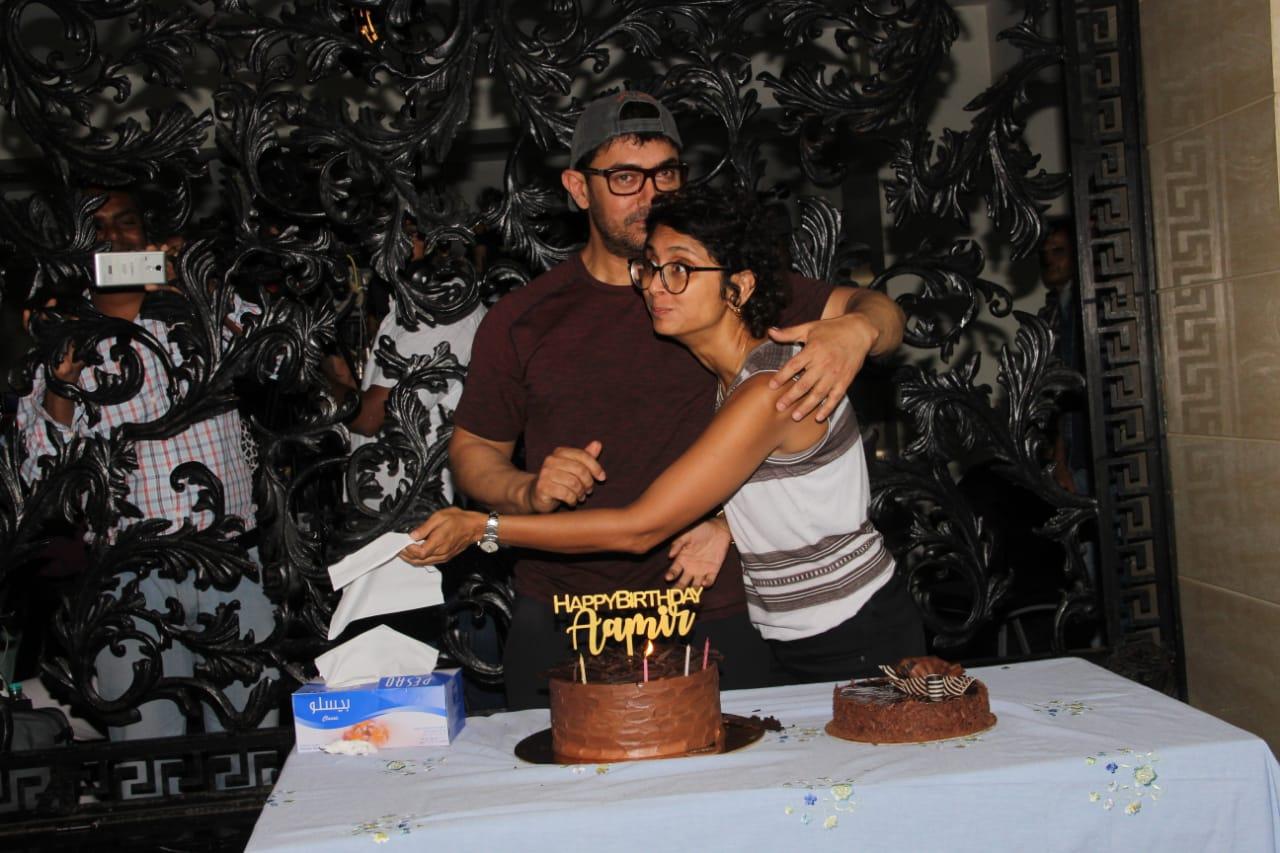 Aaamir Khan Birthday Party 14