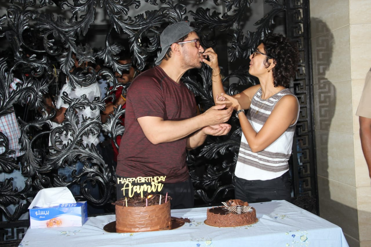 Aaamir Khan Birthday Party 3