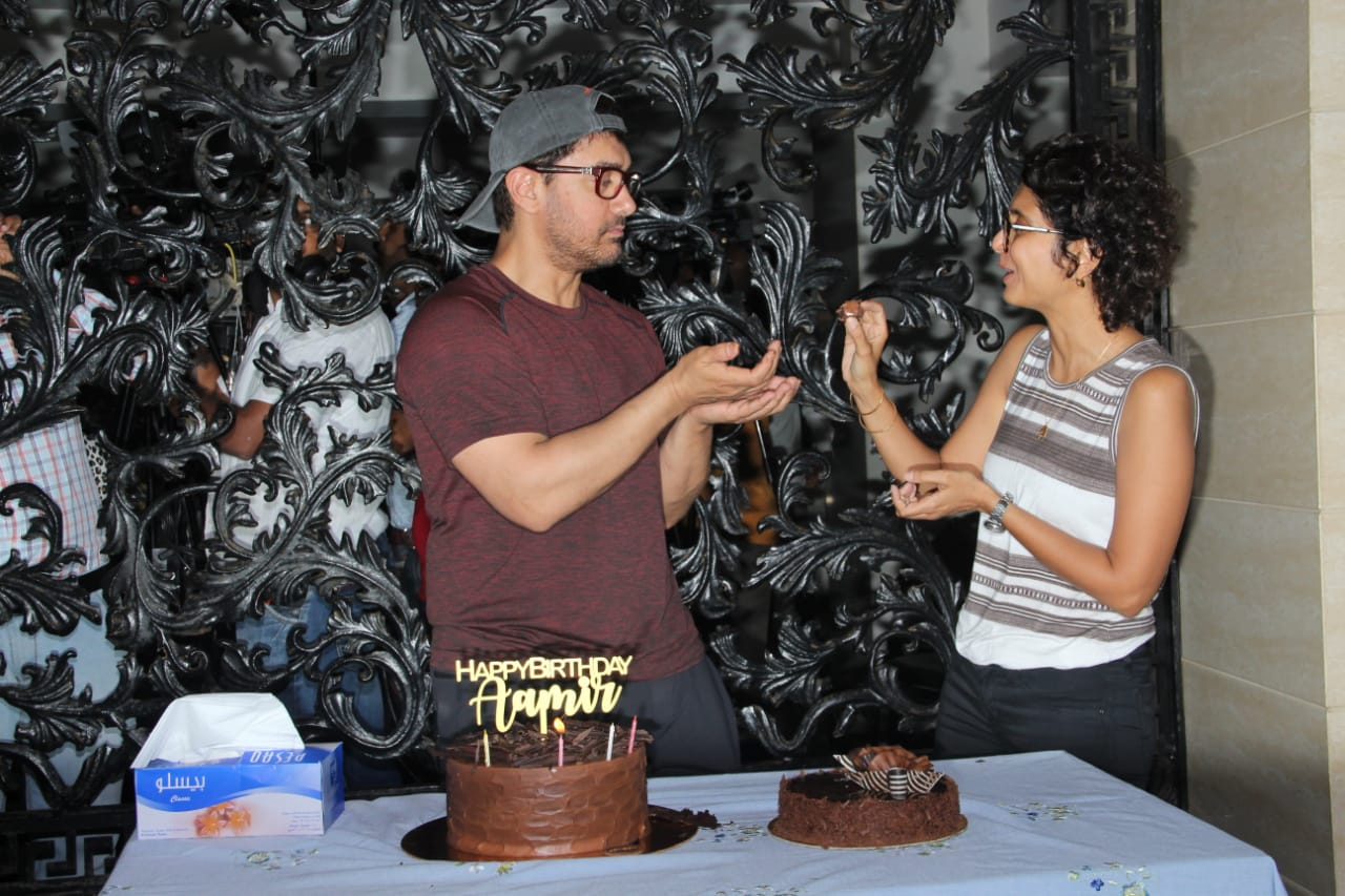 Aaamir Khan Birthday Party 4