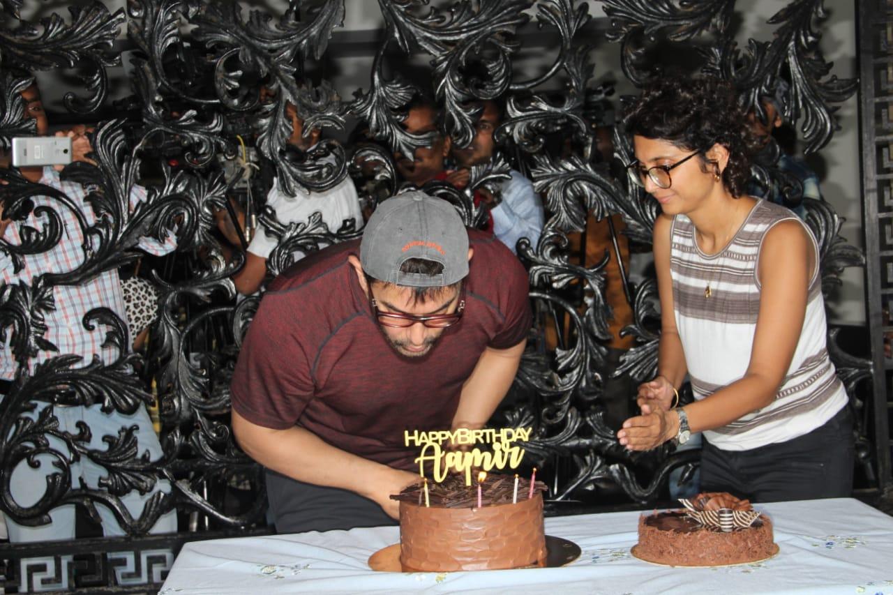 Aaamir Khan Birthday Party 5