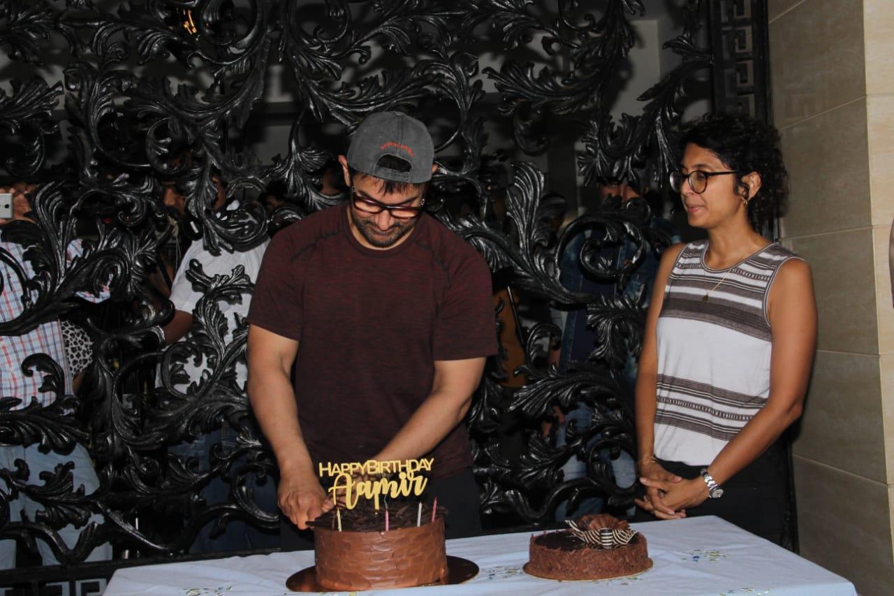 Aaamir Khan Birthday Party 6