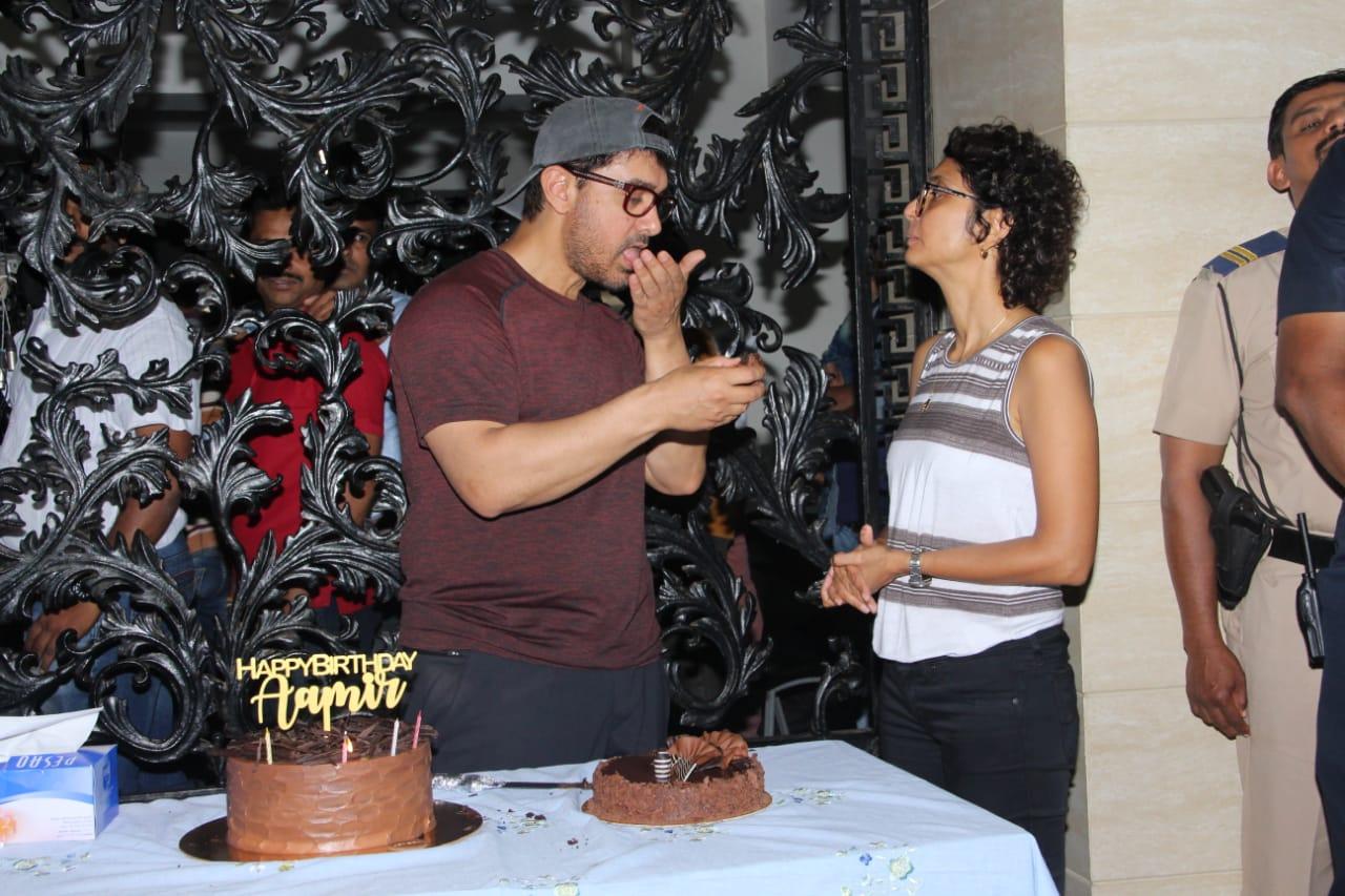 Aaamir Khan Birthday Party 9