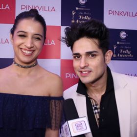 Benafsha Soonawala and Priyank Sharma on Pinkvilla Jhacaaash live game show
