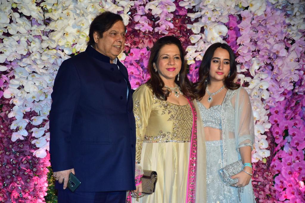 David Dhawan Natasha Akash Ambani Shloka Mehta Wedding