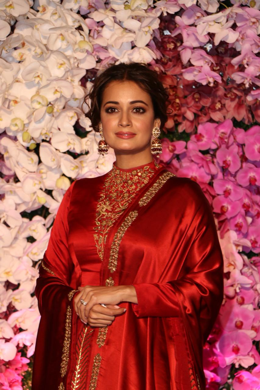 Dia Mirza Akash Ambani Shloka Mehta Wedding
