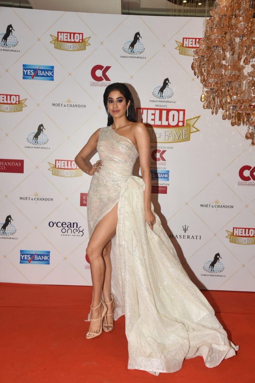 Hall Of Fame Award 2019 Jahnvi Kapoor