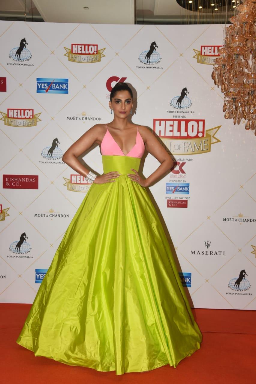 Hall Of Fame Award 2019 Sonam Kapoor