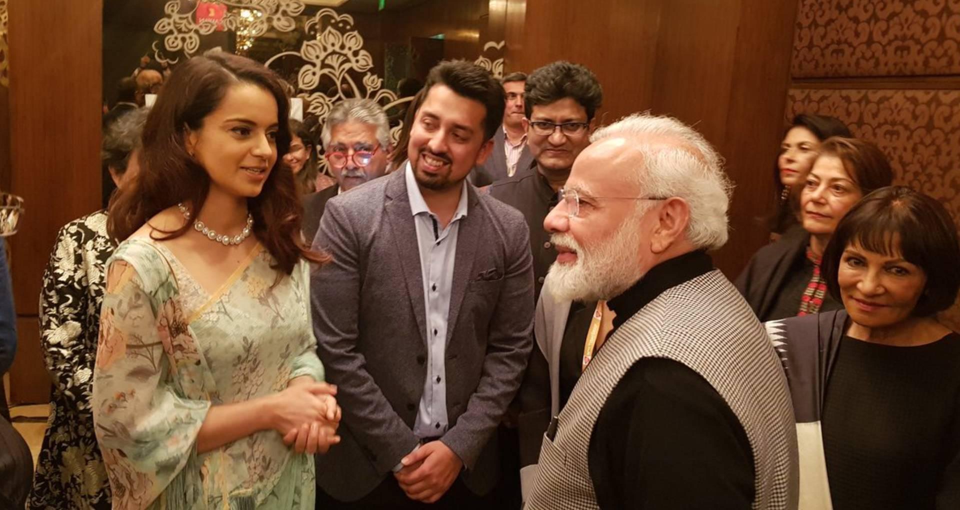 Kangana Ranaut meet PM Narendra Modi