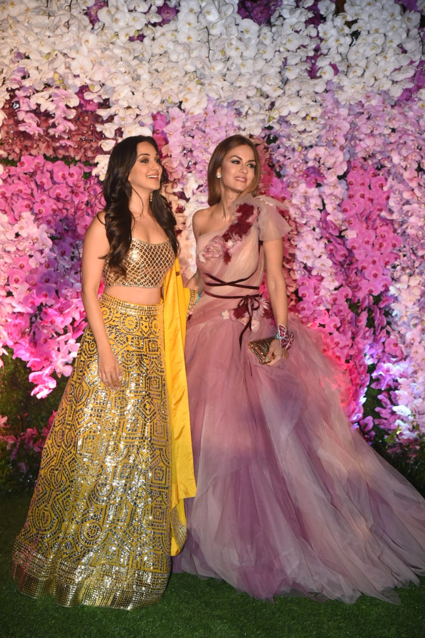Kiara Advani Natasha Puna wala Akash Ambani Shloka Mehta Wedding