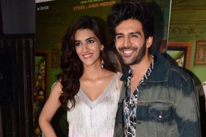 Kriti Sanon and Kartik Aaryan