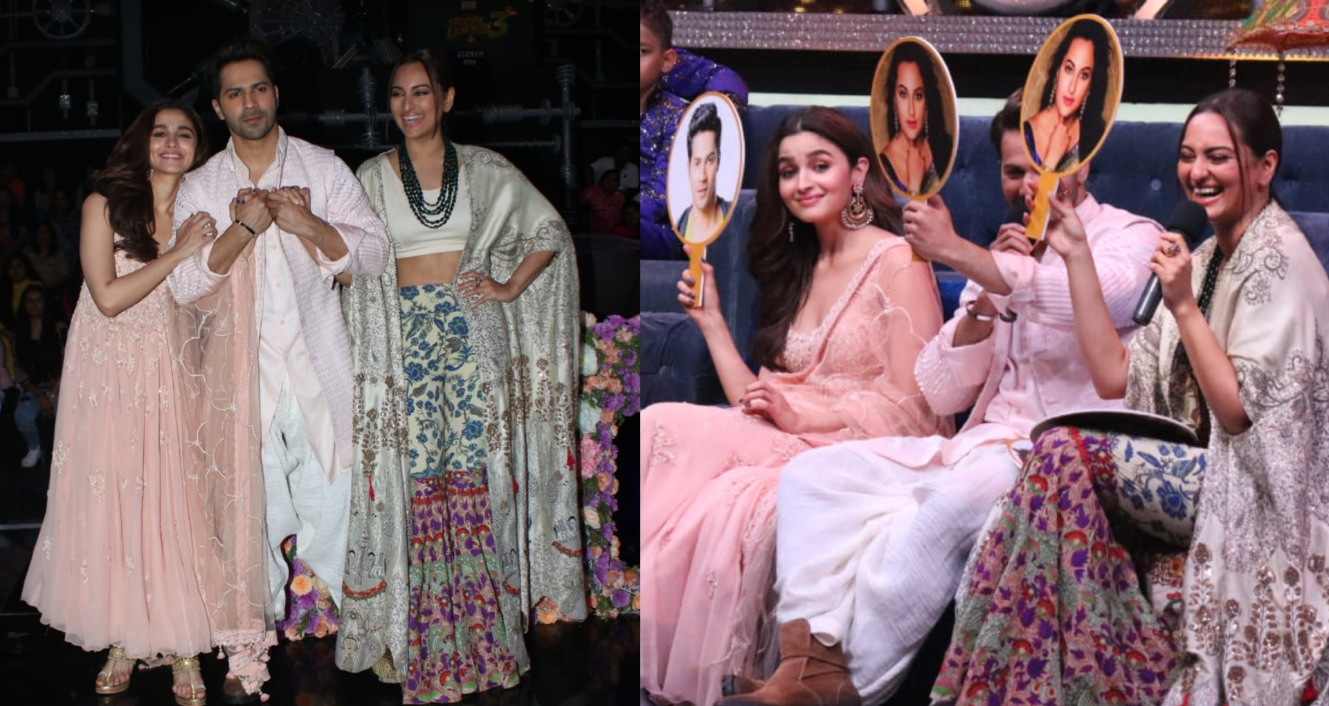 Alia Bhatt, Varun Dhawan and Sonakshi Sinha