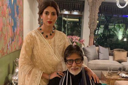 Shweta Nanda And Amitabh Bachchan