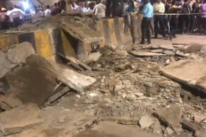 mumbai footover bridge collapse