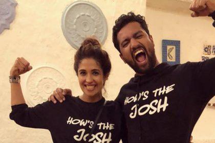 Harleen Sethi And Vicky Kushal