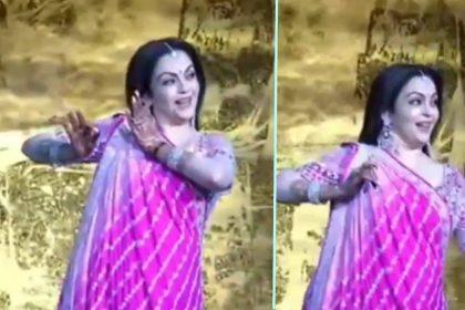 Nita Ambani Dance in Akash Ambani Shloka Mehta Marriage