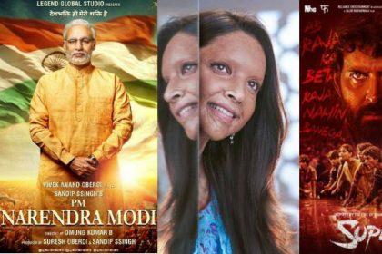 PM Narendra Modi Chhapaak Biopics Bollywood Films