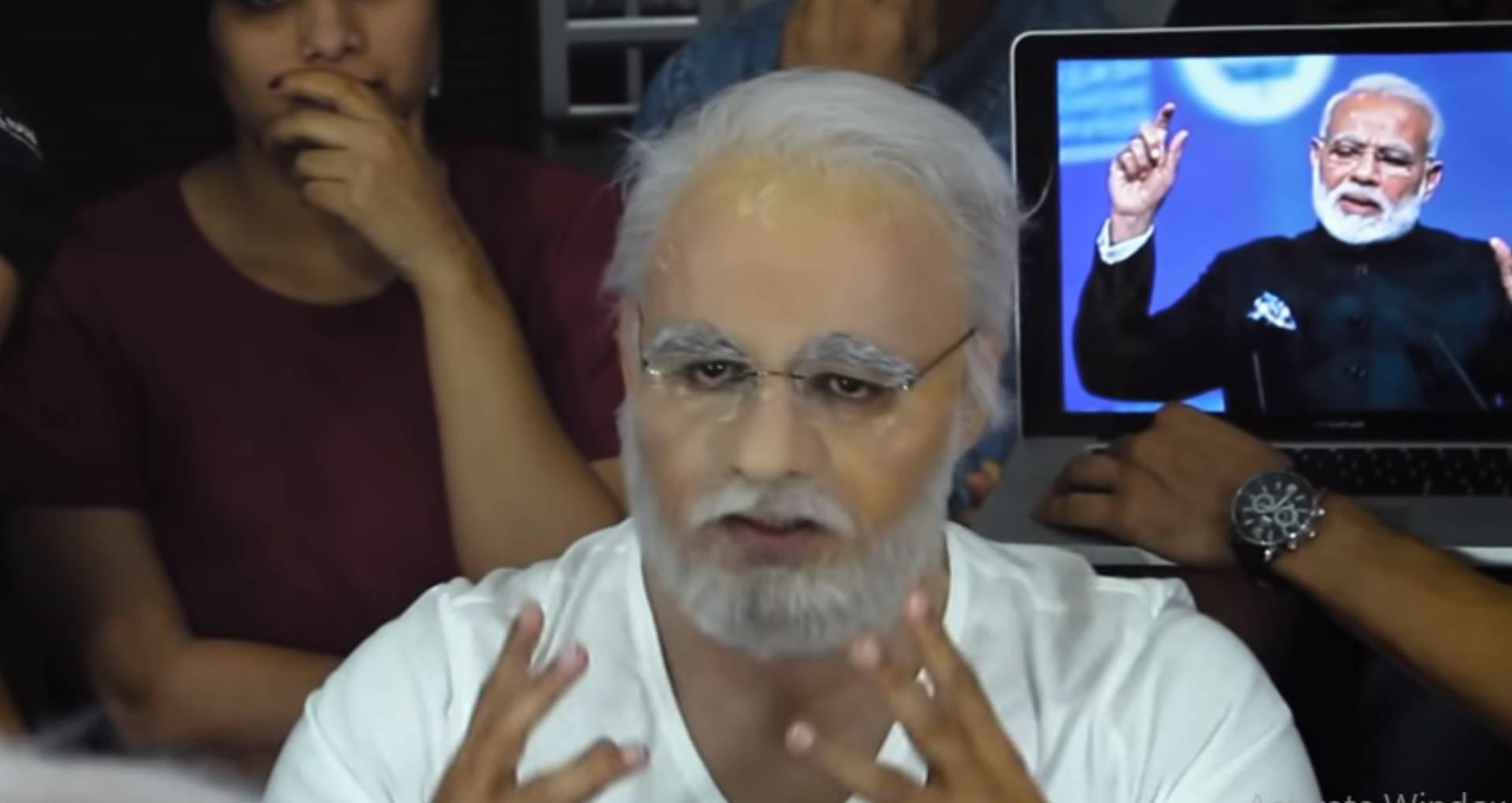 विवेक ओबेरॉय ऐसे बने पीएम नरेंद्र मोदी, फिल्ममेकर्स ने जारी किया एक्टर का लुक मेकिंग वीडियो
