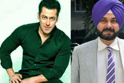Salman Khan Navjot Singh Sidhu