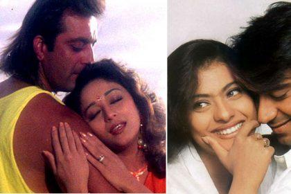 Sanjay Dutt Madhuri Dixit Kalank film Ajay Devgn Kajol Taanaji film 90s hit jodi comeback bollywood
