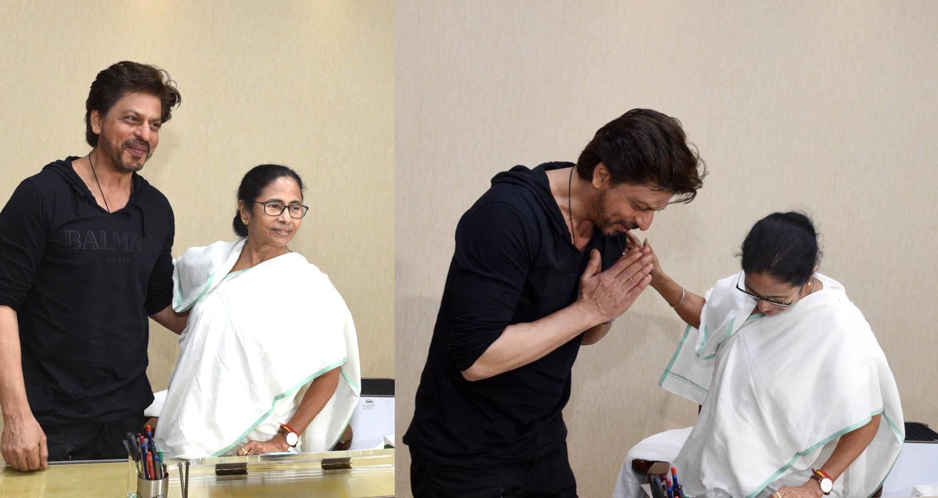 बॉलीवुड के किंग शाहरुख खान ने पश्चिम बंगाल की मुख्यमंत्री की मुलाकात, इस काम के लिया ममता बनर्जी से आर्शिवाद
