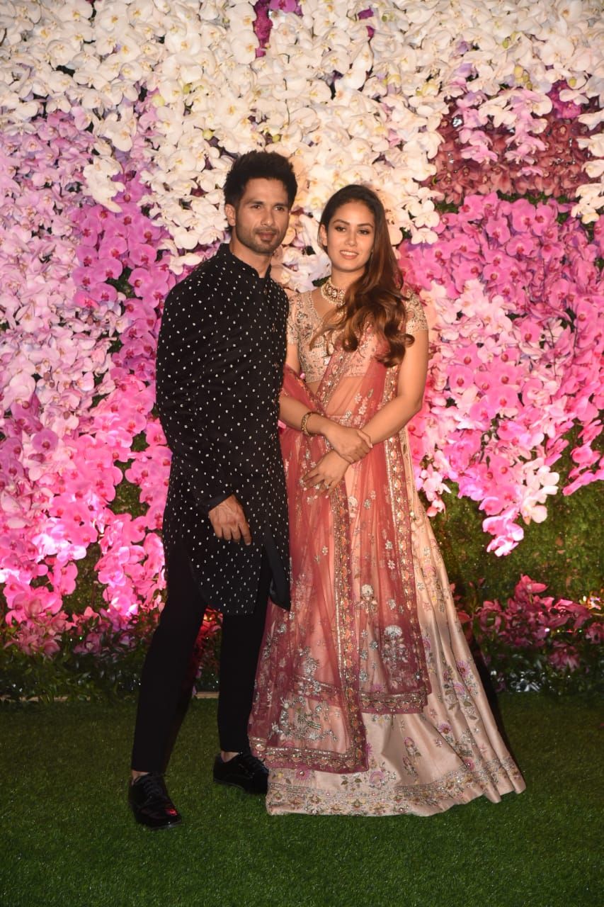 Shahid kapoor Mira Rajput Akash Ambani Shloka Mehta Wedding