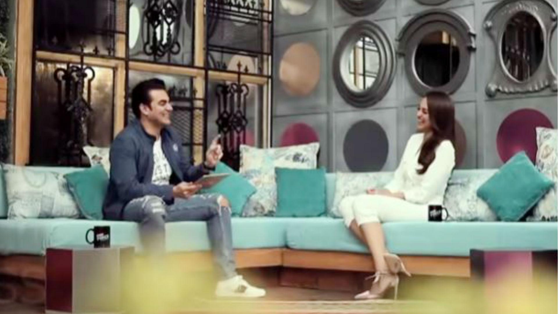 अरबाज खान के शो में सोनाक्षी सिन्हा ने बताया- ऑनलाइन प्रपोज करने वालों के साथ क्या करूंगी, देखिए वीडियो