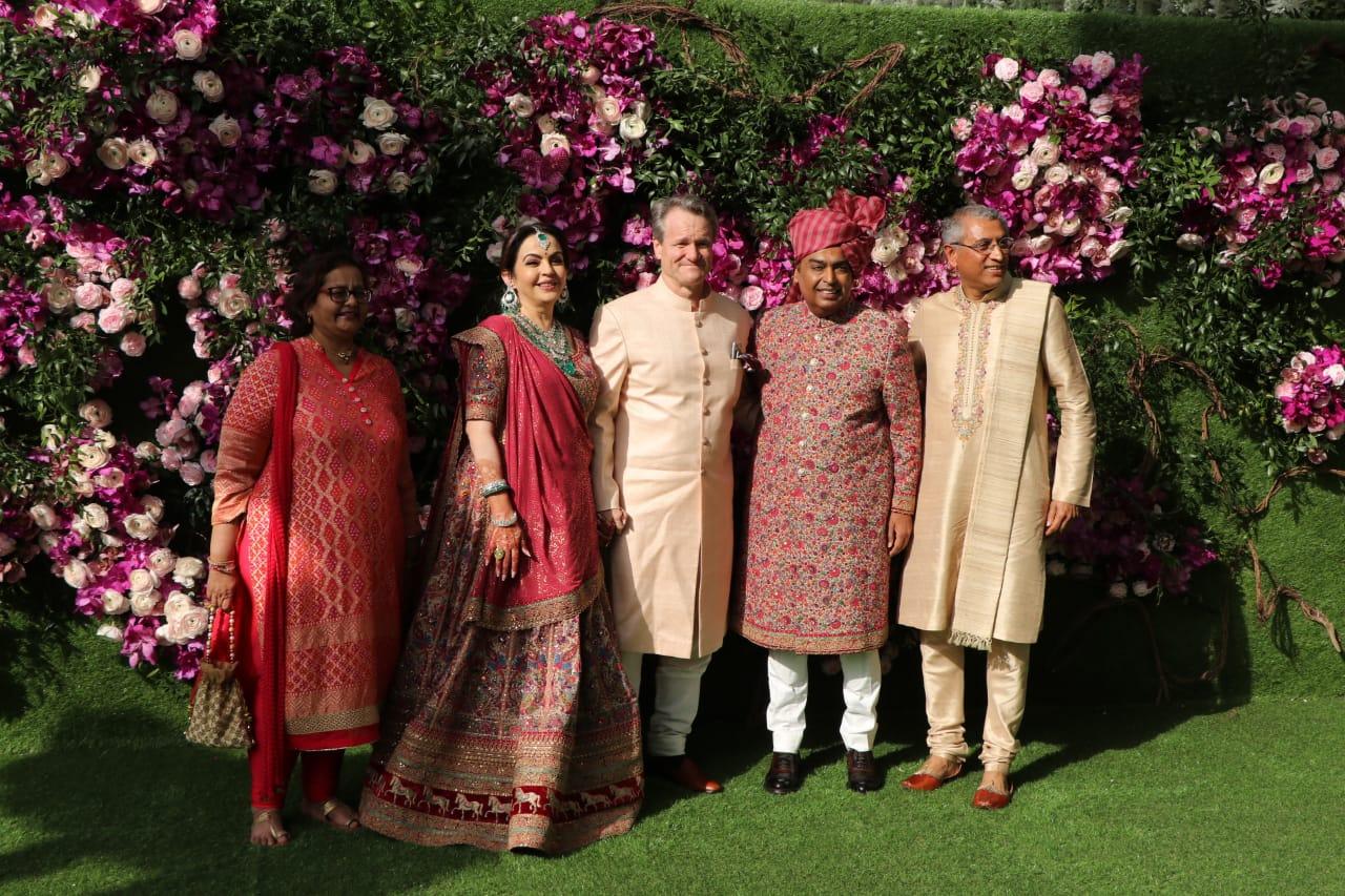 Akash Ambani Shloka Metha Marriage Guest
