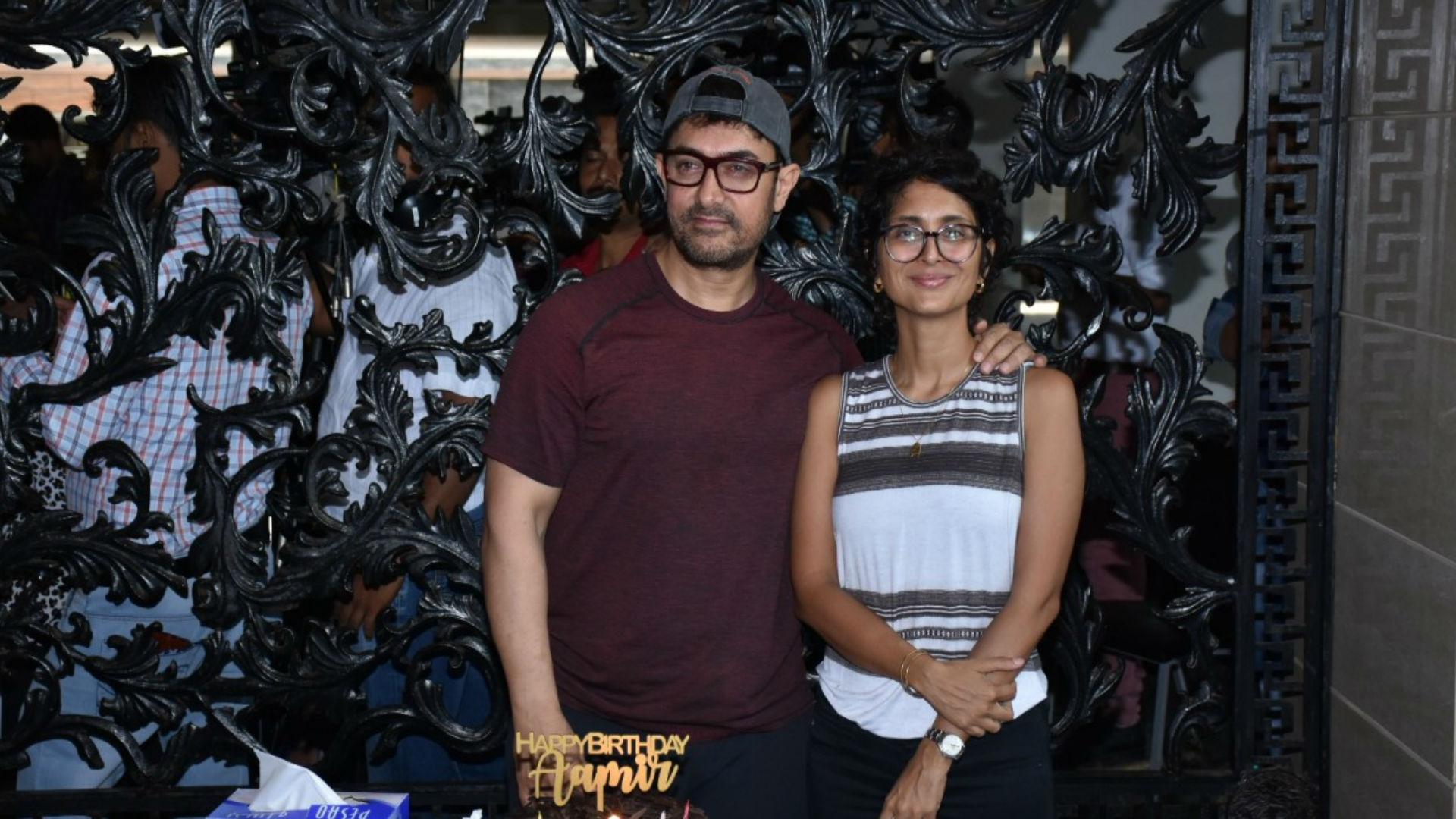 आमिर खान ने पत्नी किरण राव के साथ ऐसे मनाया अपना 54वां बर्थडे, बताया अपनी अपकमिंग फिल्म का नाम