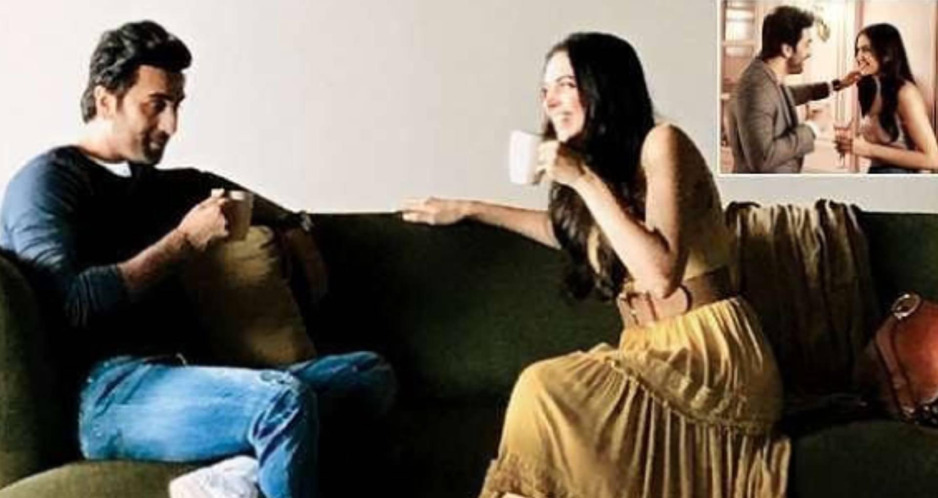 कॉफी डेट पर एक्स ब्वॉयफ्रेंड रणबीर कपूर के साथ नजर आईं दीपिका पादुकोण, पति रणवीर सिंह को हो सकती है जलन