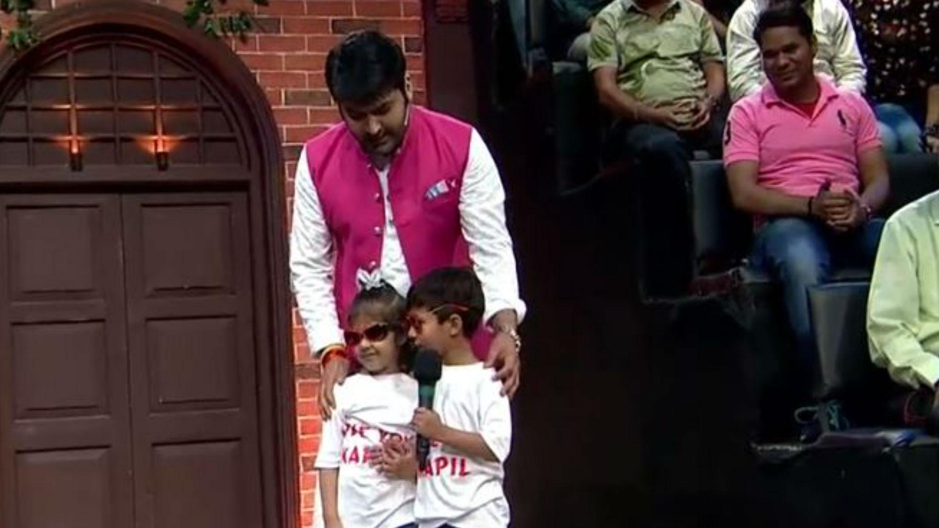 शो में कपिल शर्मा ने इन दोनों बच्चों को देखने के बाद कही ऐसी बात, ऑडियंस में बजने लगी जबरदस्त तालियां