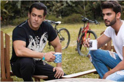 सलमान खान और जहीर इकबाल की तस्वीर (फोटो इंस्टाग्राम)