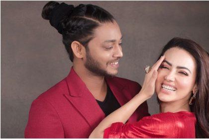 सना खान और मेल्विन लुइस (इंस्टाग्राम)