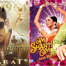 Bharat Salman Khan Om Shanti Om Shah Rukh Khan Akshay Kumar Ranbir Kapoor retro looks films