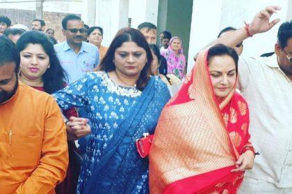 Jaya Prada birthday file nomination BJP candidate Rampur UP Lok Sabha Elections 2019
