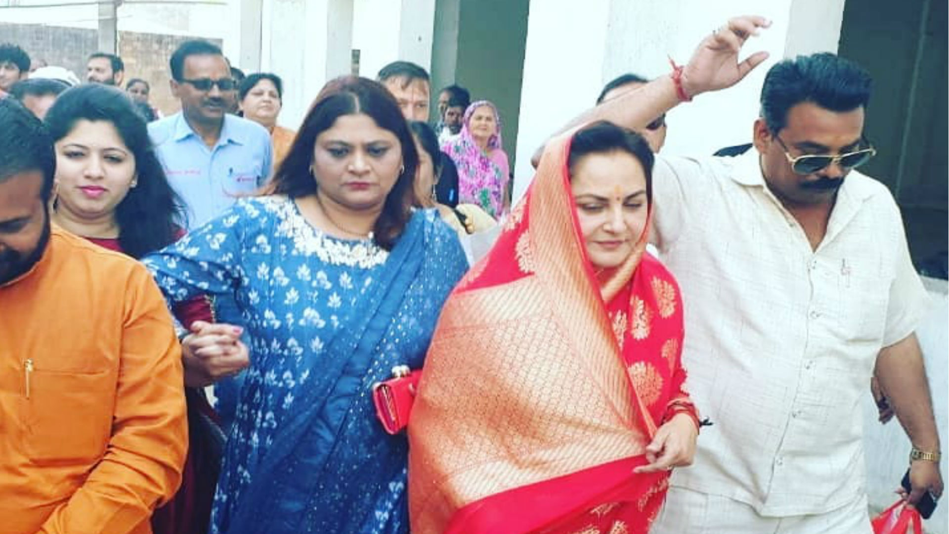 जया प्रदा आज अपने जन्मदिन पर दाखिल करेंगी पर्चा, बीजेपी के टिकट पर रामपुर से लड़ रही हैं लोकसभा चुनाव