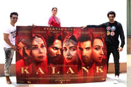 Kalank Promotion