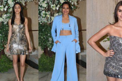 Ananya Pandey, Sonakshi Sinha And Tara Sutaria