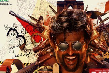Rajinikanth In Darbar Movie Poster