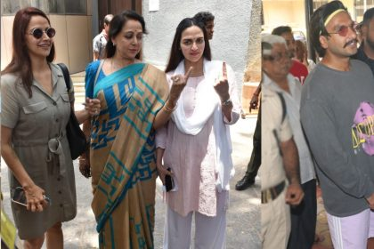 Ahana Deol, Hema Malini, Esha Deol And Ranveer Singh
